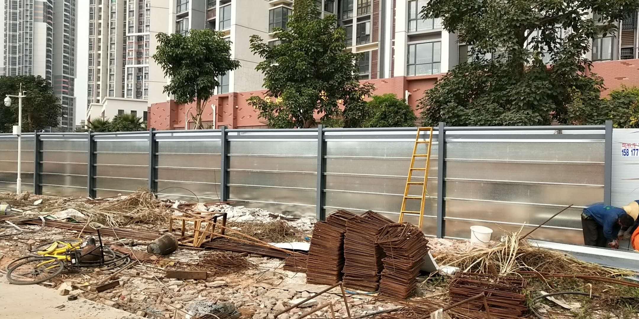 深圳市住建局统一装配式钢结构围挡